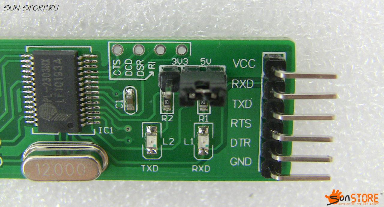 usb com 2303 схема