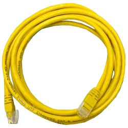 Кабель Patch cord UTP 5 level 2m   Желтый
