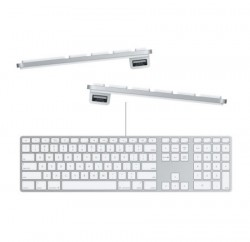 Клавиатура Apple Keyboard with Numeric Keypad [MB110RS/B]