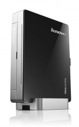 Мини-Компьютер Lenovo IdeaCentre Q190 (Black-Silver) <Celeron 887 dual core 1,5G, DDR3*2Gb, HDD*500Gb, DVD-RW, GBLan+WiFi, Win8 EM, Retail>