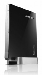 Мини-Компьютер Lenovo IdeaCentre Q190 (Black-Silver) <Celeron 1017U dual core 1,6G, DDR3*4Gb, HDD*500Gb, GBLan+WiFi, USB KB&Mouse, Win8 Pro, Retail>