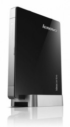 Мини-Компьютер Lenovo IdeaCentre Q190 (Black-Silver) <Celeron 887 dual core 1,5G, DDR3*4Gb, HDD*500Gb, GBLan+WiFi, DOS, Retail>