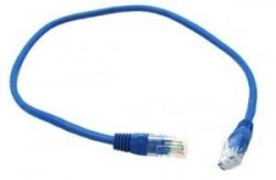 Кабель Belsis Patch Cord UTP 5 level   длина 0.5 м, синий  BW1485