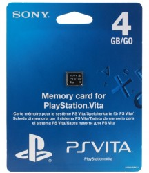 Карта памяти Sony для PlayStation VITA 4GB (PCH-Z041)