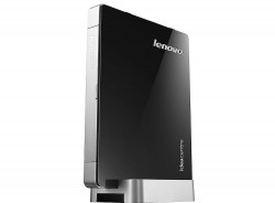 Мини-Компьютер Lenovo IdeaCentre Q190 (Black-Silver) <Celeron 1017U dual core 1,6G, DDR3*4Gb, HDD*500Gb, GBLan+WiFi, DOS, Retail>