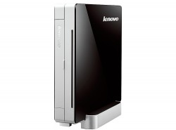 Мини-Компьютер Lenovo IdeaCentre Q190 (Black-Silver) <Celeron 1017U dual core 1,6G, DDR3*4Gb, HDD*500Gb, DVD-RW, GBLan+WiFi, Win8 64, Retail>