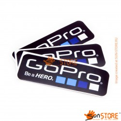 "Наклейки GoPro ""Be a HERO"" 3шт"