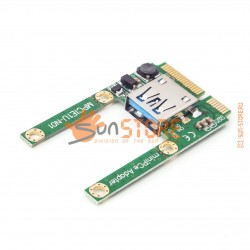 Адаптер Mini PCI-E в USB 2.0 Interface (MPCIE1U-N01)