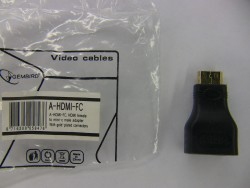 A-HDMI-FC, HDMI female to mini-c male adapter
