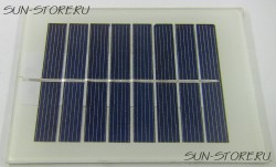 MULTICOMP - MC-SP0.8-NF-GCS - SOLAR PANEL, 0.8W, 4V, NO FRAME