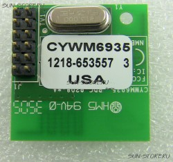 Трансивер Cypress semiconductor - cywm6935 - radio module, wireless usb lr, spi, 50м