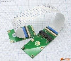 Удлинитель Mini PCI-E (mPCIe)