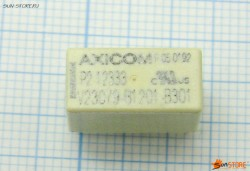Реле бистабильное - TE CONNECTIVITY - AXICOM - 3-1393788-3 - RELAY, POWER, 5VDC, 2A