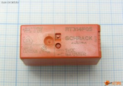 Реле бистабильное TE CONNECTIVITY / SCHRACK - 8-1393239-5 - RELAY, POWER, PCB, 5VDC, 8A