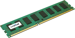 Память DDR3 16Gb (pc-10600) 1333MHz Crucial ECC Reg CL9 Dual Rank (CT16G3ERSLD41339)
