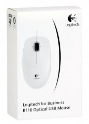 Мышь (910-001804) Logitech Optical B110 Grey USB OEM