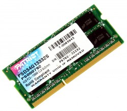 Память SO-DIMM DDR3 4096 Mb (pc-10660) 1333MHz Patriot