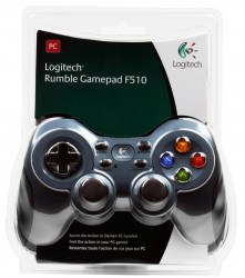 Геймпад (940-000107) Logitech Gamepad Rumble F510 USB