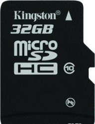 Карта памяти MicroSDHC 32GB Kingston Class10 no Adapter  (SDC10/32GBSP)