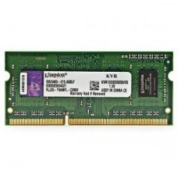 Память SO-DIMM DDR3 2048 Mb (pc-10600) 1333MHz Kingston (KVR1333D3S8S9/2G)