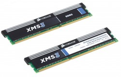 Память DDR3 16Gb (pc-10600) 2x8Gb Corsair XMS (CMX16GX3M2A1333C9)