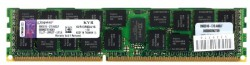 Память DDR3 16Gb (pc-10600) 1333MHz ECC Reg D4 TS Kingston <Retail> (KVR13R9D4/16)