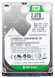 "Жесткий диск 2.5""  2Tb WD20NPVT Green SATA II (8mb. IntelliPower)"
