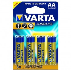 Батарейки VARTA Long Life AA блистер 4   04106101414
