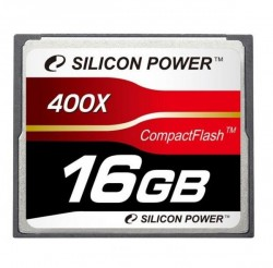 Карта памяти Compact Flash 16Gb Silicon Power <400x>