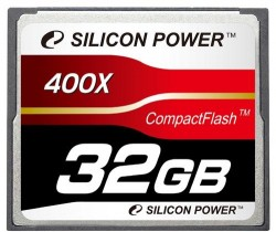 Карта памяти Compact Flash 32Gb Silicon Power <400x>