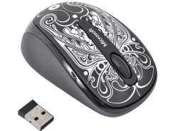 (GMF-00352) Мышь Microsoft Wireless Mobile Mouse3500 Black. USB  Artist Lyon  беспроводная