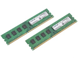 Память DDR3 16Gb (pc-12800) 1600MHz Crucial (CT2KIT102464BA160B) 2x8Gb. CL11