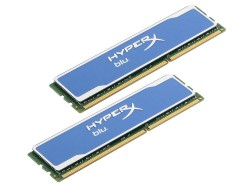 Память DDR3 16Gb (pc-12800) 1600MHz Kingston HyperX Blu. Kit of 2 <Retail> (KHX16C10B1K2/16X)