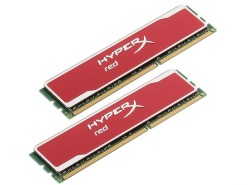 Память DDR3 16Gb (pc-12800) 1600MHz Kingston HyperX Red. Kit of 2 <Retail> (KHX16C10B1RK2/16X)